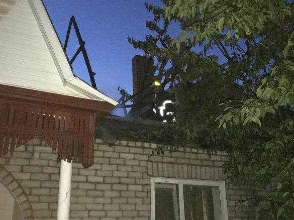 У будинку на Черкащині сталася пожежа (ФОТО)