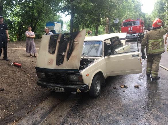 Три загорання автомобілів виникло за добу на Черкащині (ВІДЕО)