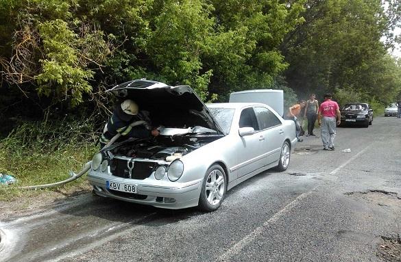 Два загорання автомобілей сталося на Черкащині (ФОТО)