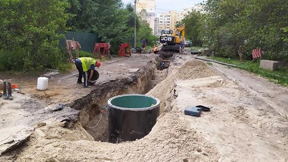 У Черкасах відновлюють роботу головного каналізаційного колектору