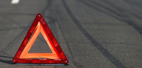 Не вписались у поворот: на Черкащині двоє людей упали з мотоцикла