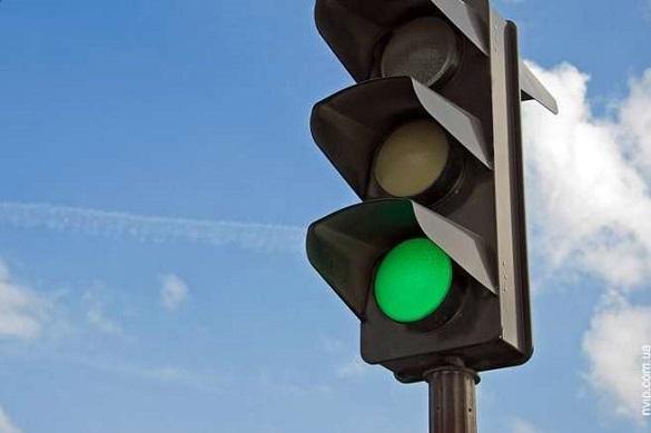 Черкасці просять відремонтувати світлофор на одній з вулиці міста
