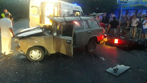 ДТП із постраждалими сталася у Черкасах (ФОТО)