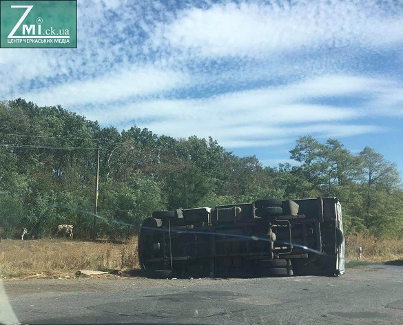 На Черкащині зіштовхнулися два автомобілі: є постраждалі (ФОТО)