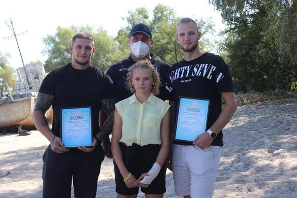 У Черкаській області дівчину, яка ледь не потонула, врятували двоє хлопців