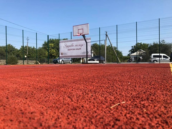 Майданчик для занять ігровими видами спорту відкрили на Черкащині (ФОТО)