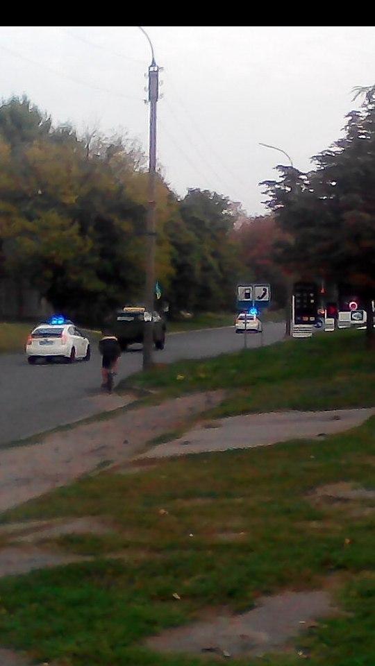 У Черкасах вулицями проїхалася бойова машина піхоти, фото-1